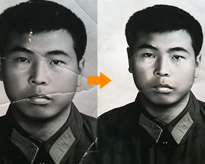 图叔叔PS小知识:如何修复老照片?